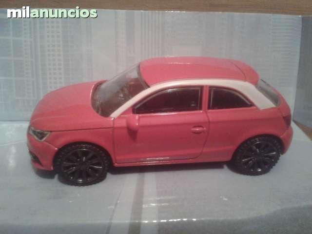Coche Audi A1 Rojo Esc 1:43