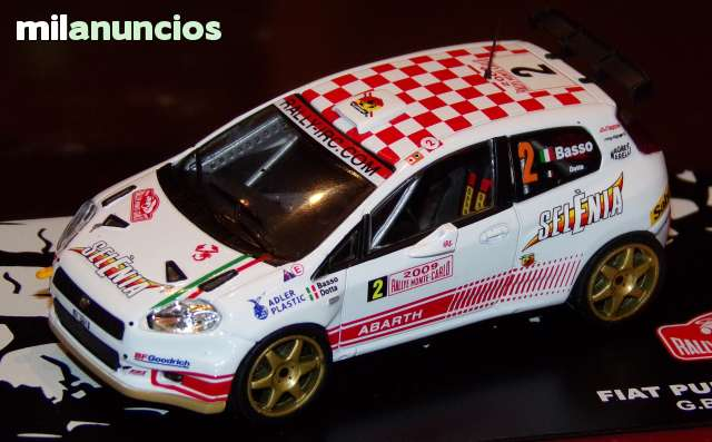 Fiat Grande Punto Abarth S2000 Rallye De