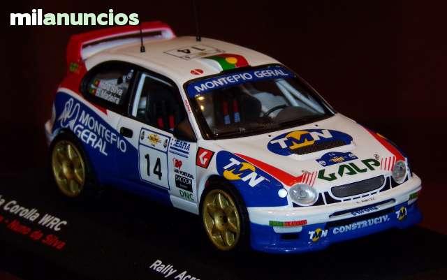 Toyota Corolla Wrc Rally Acropolis 1998