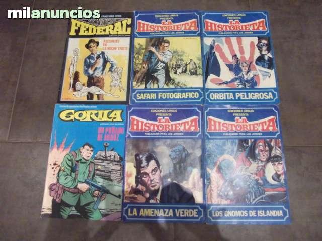 6 TEBEOS EDICIONES URSUS AÑOS 70.  - foto 1