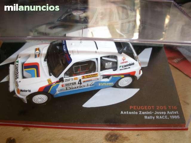 PEUGEOT 205 T16 1985 ZANINI RALLY RACE