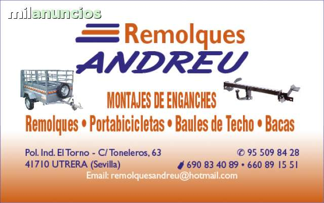 ALQUILER DE REMOLQUES