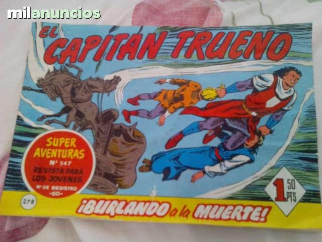 Vendo Comic Del Capitan Trueno