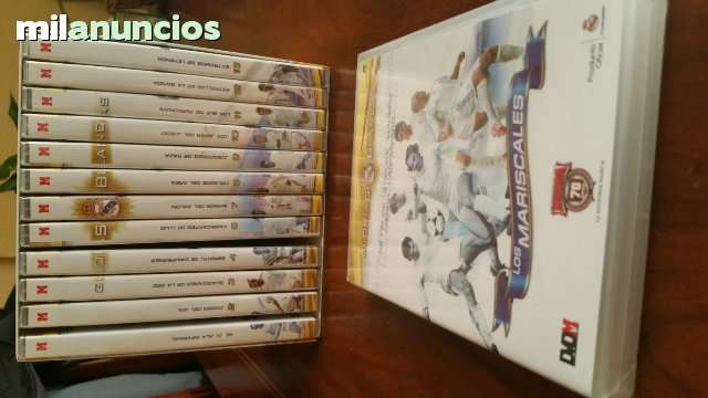 Coleccion De Dvd Del Real Madrid