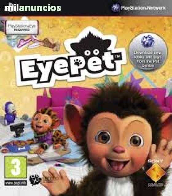 JUEGO PS3 PLAYSTATION 3 EYEPET,