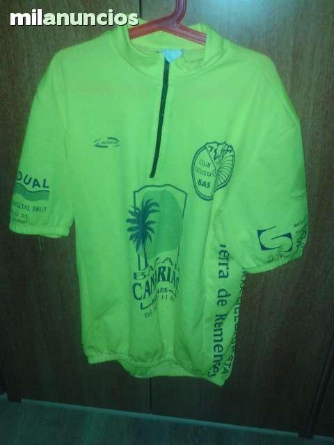 Maillot Ciclista Talla L + Mono