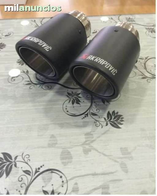 COLAS DE ESCAPE CARBONO AKRAPOVIC