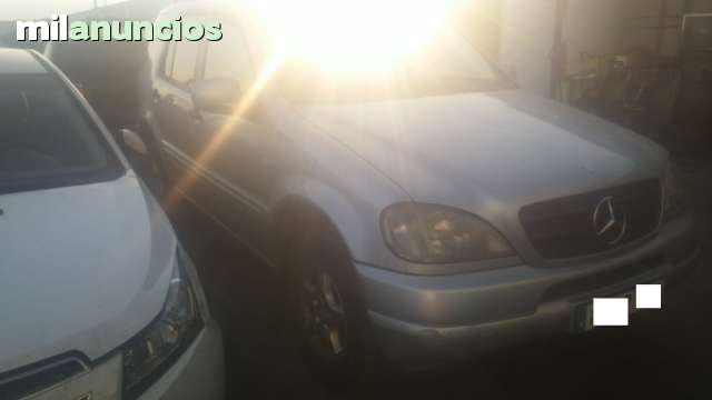 DESPIECE DE MERCEDES ML CARROCERIA 163