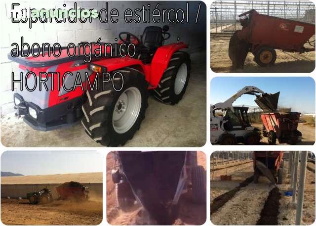 ESPARCIDOR ESTIERCOL - HORTICAMPO