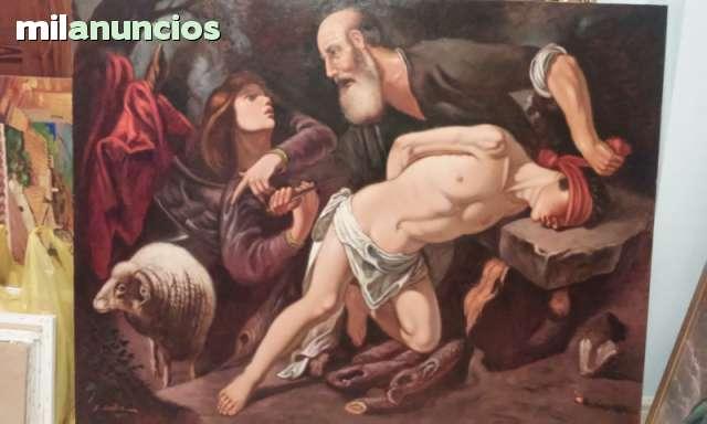 CUADRO E SACRIFICIO DE ISAAC
