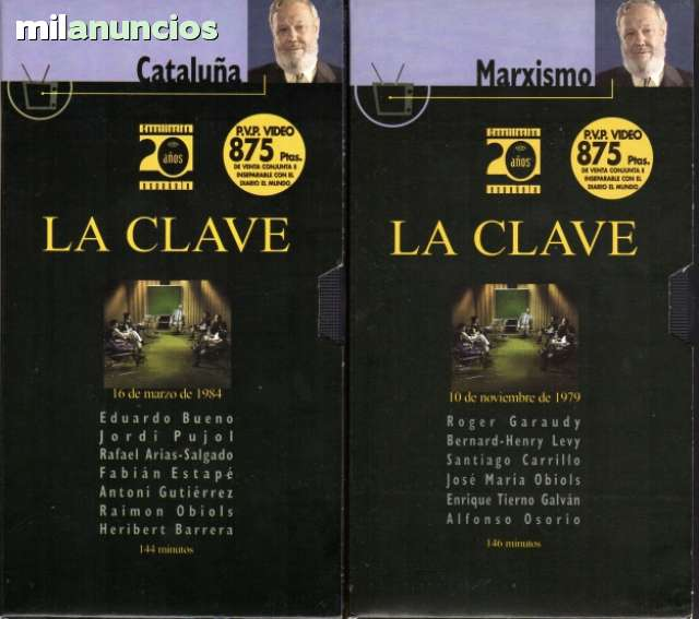 LA CLAVE DE BALBÍN.  TVE.  10 PROGRAMAS - foto 5