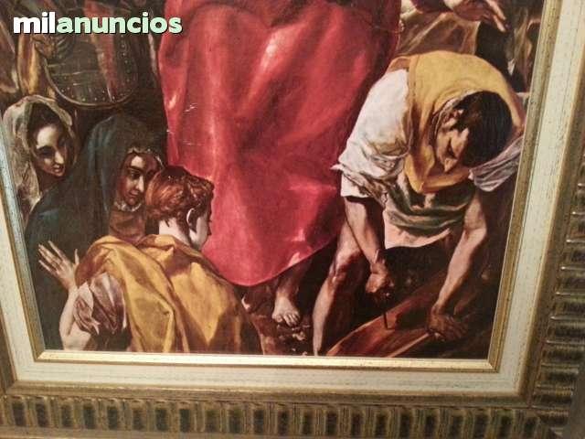 CUADRO DE CRISTO DE EL GRECO - foto 3