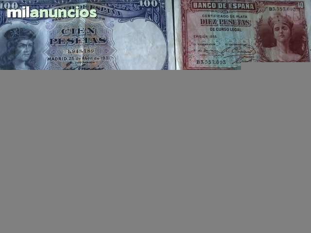 Billetes Antiguos 1931