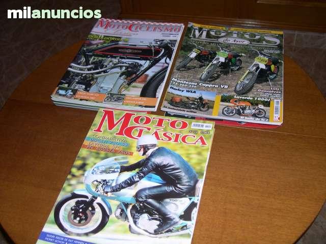 REVISTAS - MOTOS CLÁSICAS