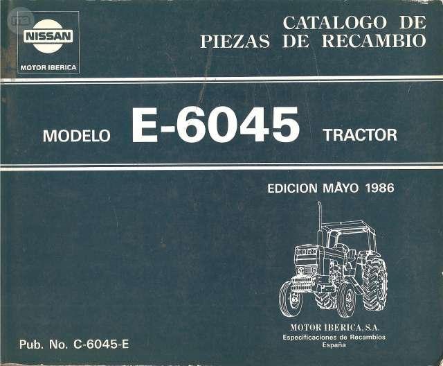 CATALOGO RECAMBIOS EBRO E 6045