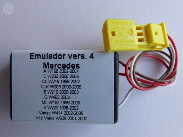 EMULADOR MERCEDES AVERIA AIRBAG VERS. 4