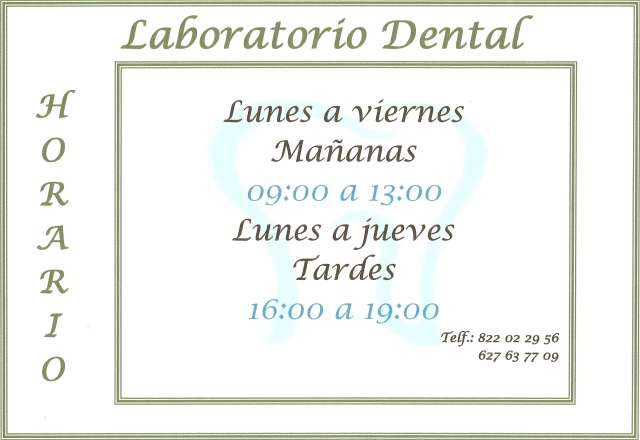 LABORATORIO DENTAL (PROTÉSICO DENTAL) - foto 3