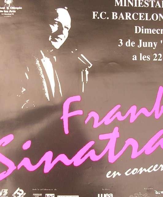 FRANK SINATRA IN BARCELONA