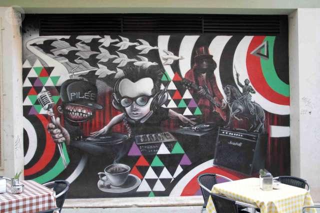 GRAFFITI DECORACIÓN CON MURALES ARTISTAS - foto 2