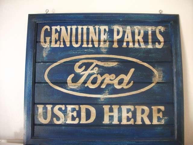 Cartel Ford Vintage