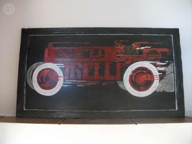 Cartel Pirelli Vintage