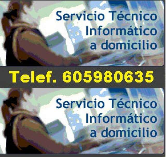 TECNICO ORDENADOR, 24 HORAS. A DOMICILIO. .