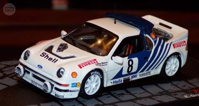 Ford Rs200 Rallye Sweden 1986 K.Grundel