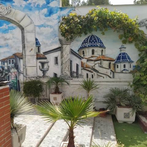 PINTURA MURAL EN LA PARED, GRAFFITI - foto 9