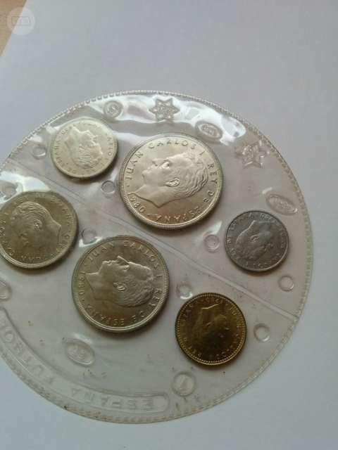 Monedas Mundial Futbol España 82