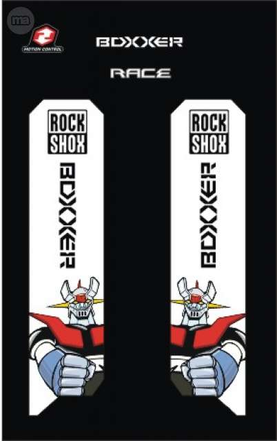KIT PEGATINAS ROCK SHOX BOXXER MAZINGUER