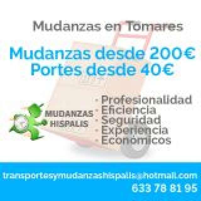 MUDANZAS Y PORTES EN TOMARES