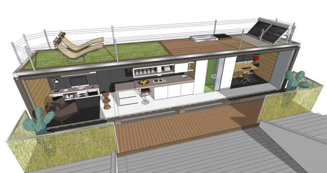 CASA CONTAINERS 30 M2 - foto 1