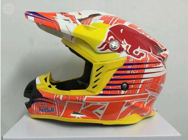 CASCO CROSS KTM RED BULL ENVIO GRATIS