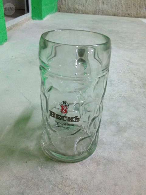 Jarra Cerveza Becks