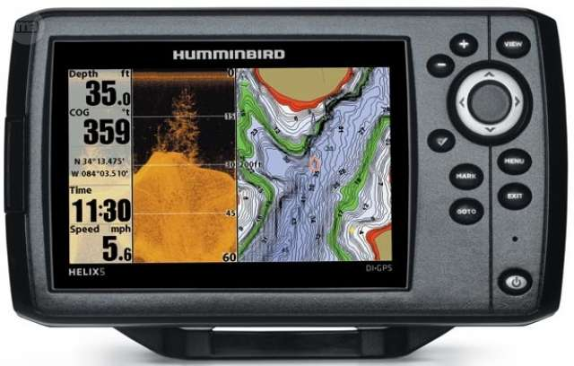 GPS PLOTTER SONDA HELIX 5G2 DI C TRANSD.