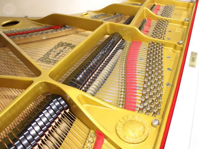 PIANO YAMAHA C3 BLANCO,  RENOVADO.  - foto 4