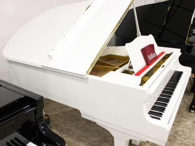PIANO YAMAHA C3 BLANCO,  RENOVADO.  - foto 8