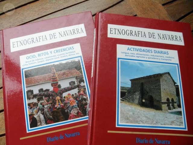ETNOGRAFÍA DE NAVARRA / 2 TOMOS / DIARIO - foto 1