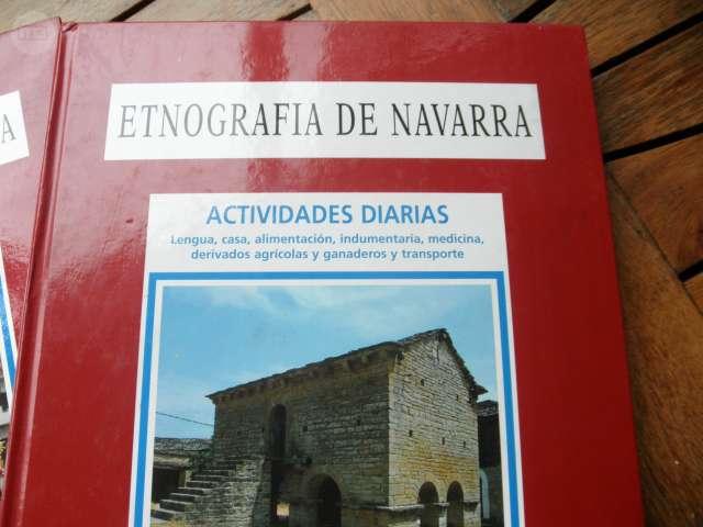 ETNOGRAFÍA DE NAVARRA / 2 TOMOS / DIARIO - foto 2