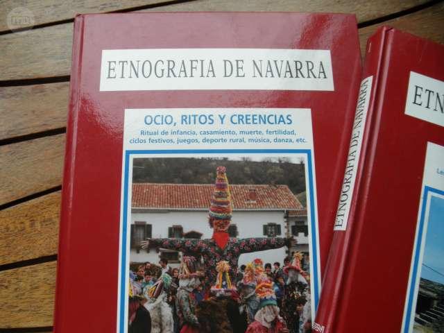 ETNOGRAFÍA DE NAVARRA / 2 TOMOS / DIARIO - foto 3