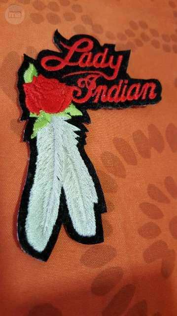 PARCHE CHAQUETA MOTO LADY INDIAN - foto 1