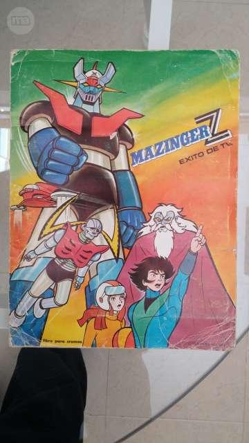 ÁLBUM DE CROMOS DE MAZINGER Z.  - foto 1