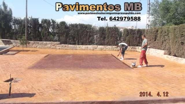 PAVIMENTOS HORMIGON IMPRESO GRANADA MB - foto 1