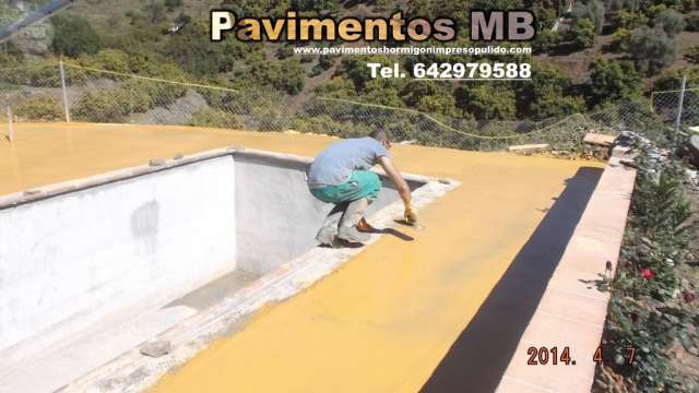 PAVIMENTOS HORMIGON IMPRESO GRANADA MB - foto 4