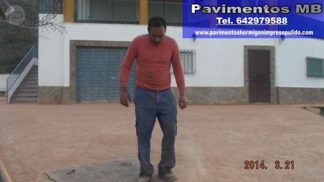 PAVIMENTOS HORMIGON IMPRESO GRANADA MB - foto 5