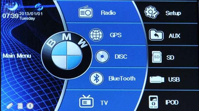 GPS DVD BMW SERIE3 E46 E90 E91 E39 E53