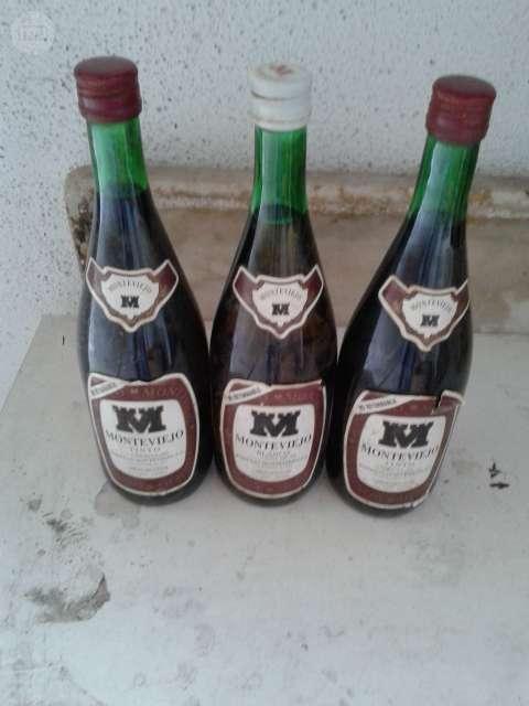 3 Botellas De Vino  Monteviejo