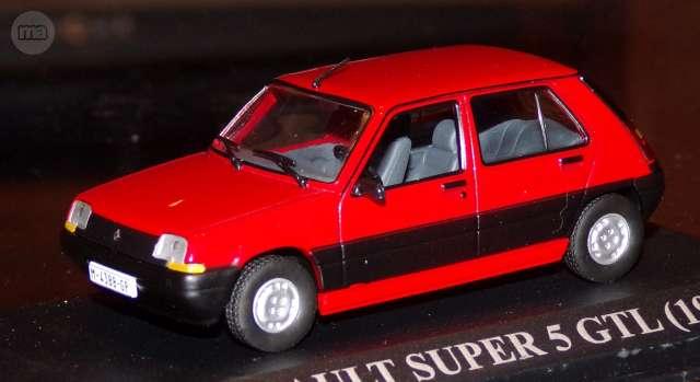 Renault Super 5 Gtl Escala 1:43 De Altay