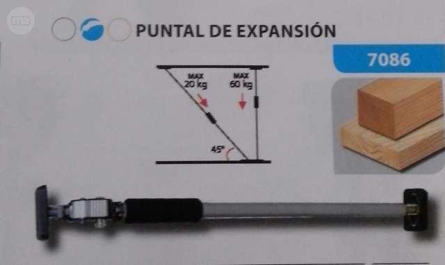 PUNTALES EXTENSIBLES PARA SEPARACIÓN