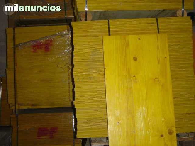 COMPRA TABLEROS DE ENCOFRAR Y PUNTALES D